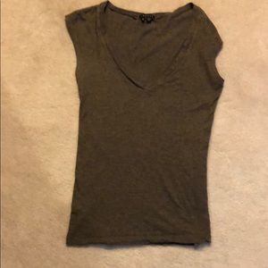 Women's sleeveless Theory Vneck top size Small